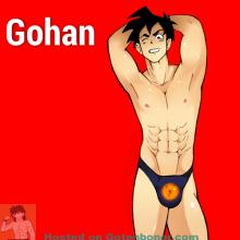 Son Gohan Yaoi Shota